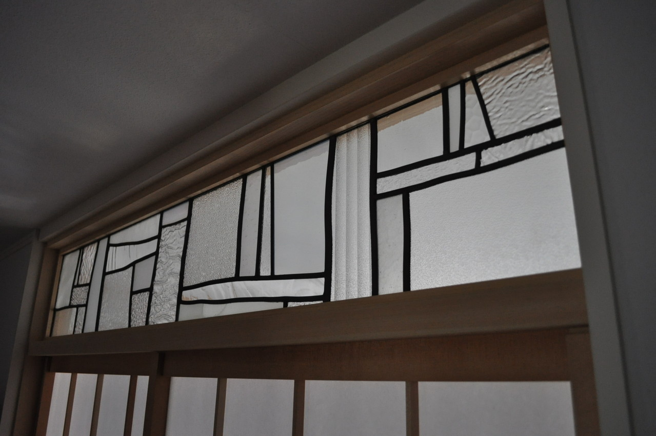 m邸-和室欄間ステンドグラス-京都-3