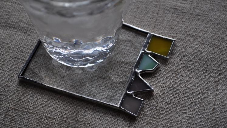 atelier mado ステンドグラス コースター ワークショップ