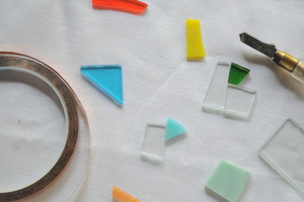 atelier mado ステンドグラス 神戸 岡本 riche 7月 ミニワークショップ 体験