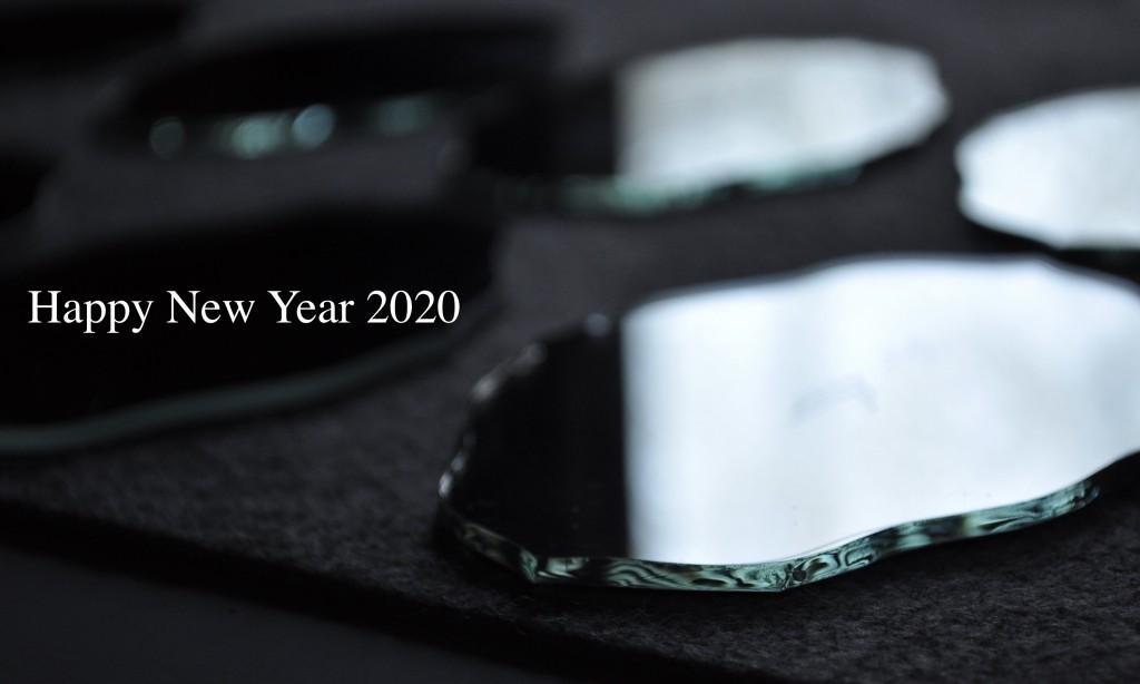 happy new year 2020 atelier mado 神戸 ステンドグラス 鏡